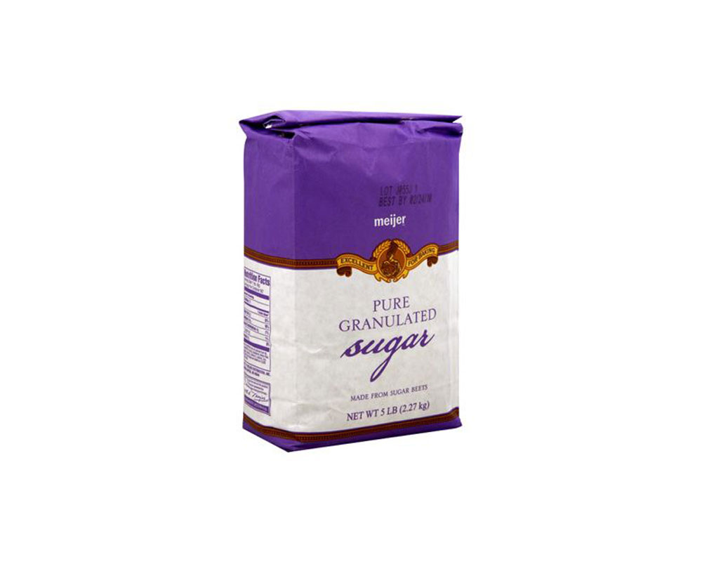 envasado de azúcar