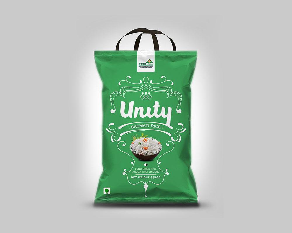 Bolsas de embalaje de arroz con manija