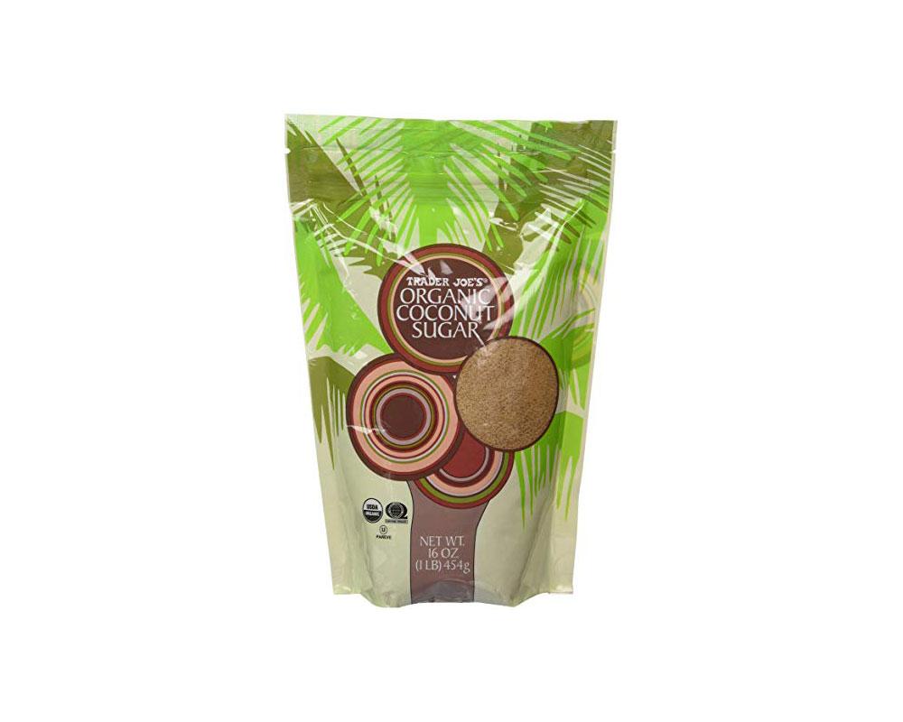 envasado de azúcar de coco orgánico