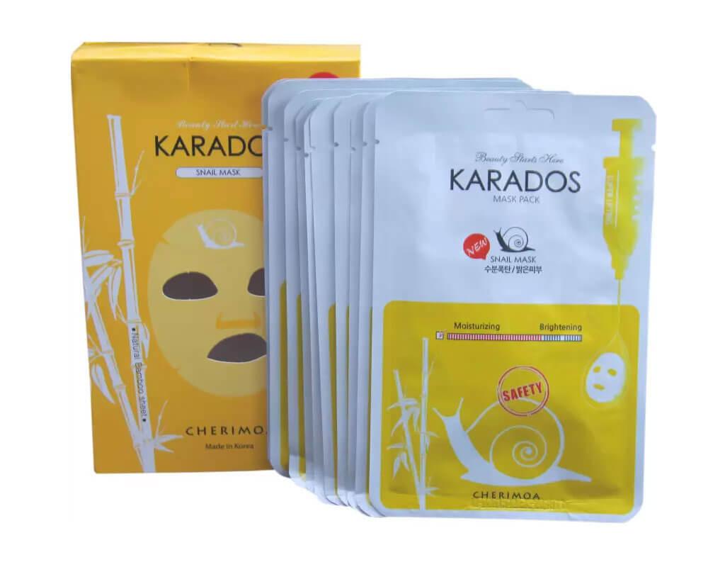 embalaje para mascara facial