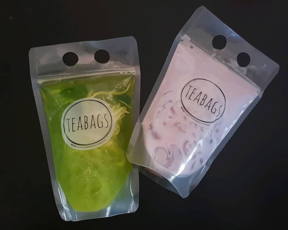 bolsas de embalaje para té