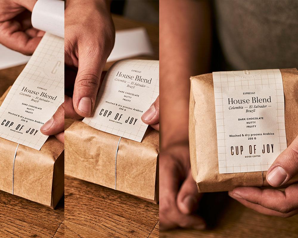 bolsas de papel café