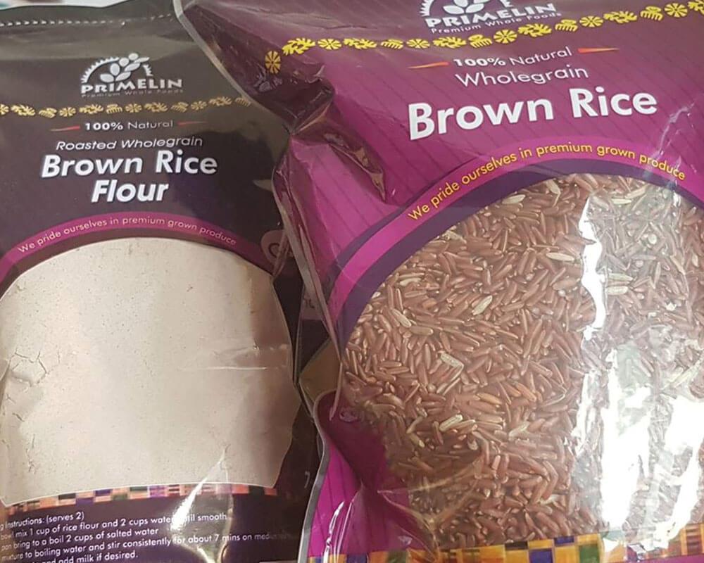 bolsas de envasado de arroz integral