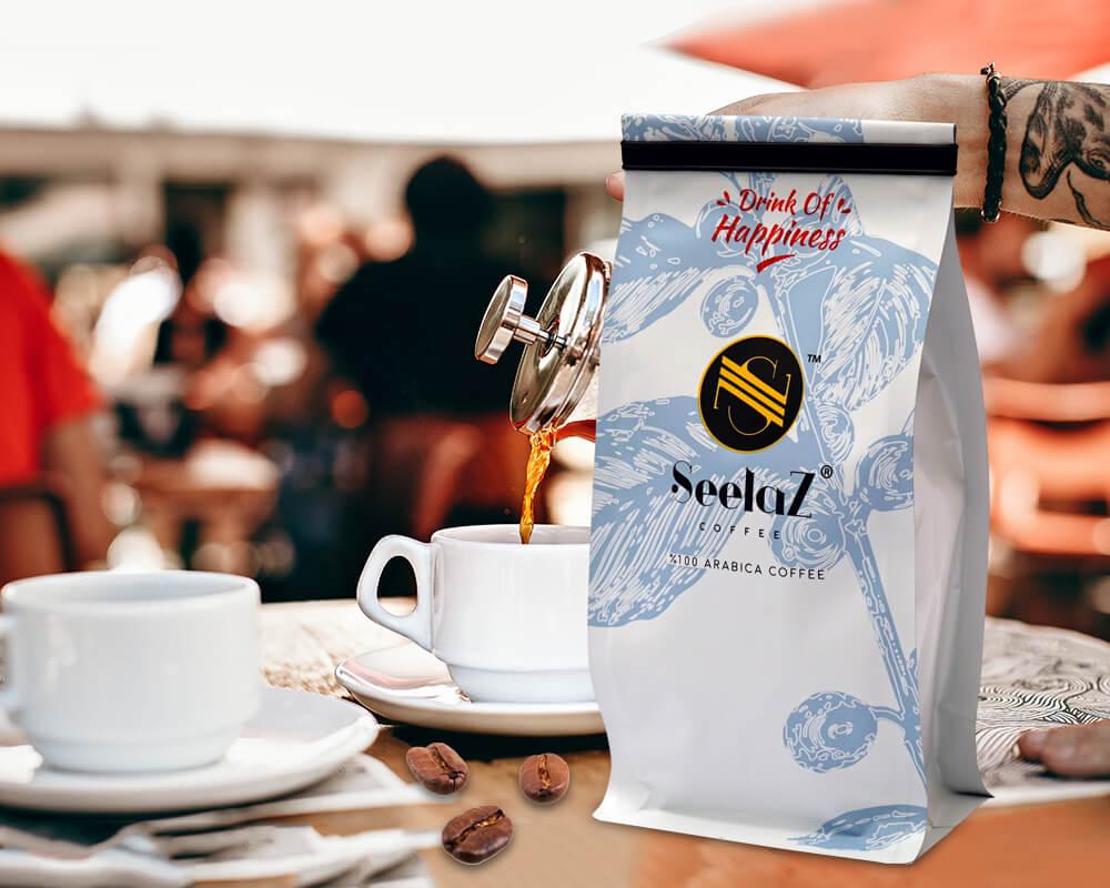 Bolsas para café impresas