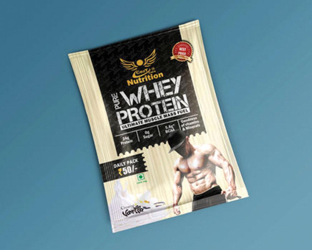 bolsas de Envasado de proteína nutricionales