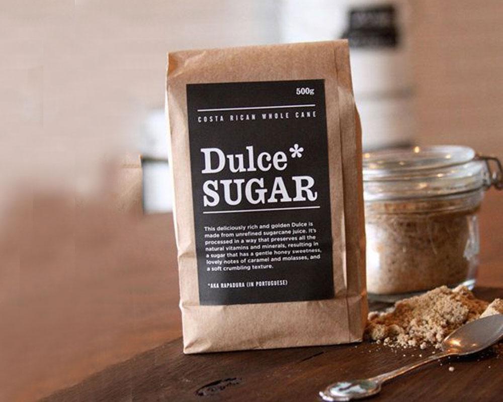 azúcar bolsas de fuelle lateral