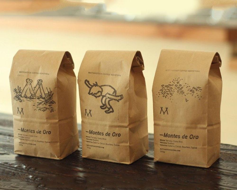 empaques para café en impresión digital